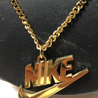 NIKE - 希少品ナイキK14喜平型チェーン最長61センチネックレス&ペンダントトップ