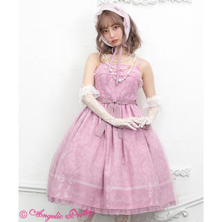Angelic Pretty - Angelic pretty Dolly Damaskジャンパースカート ピンク