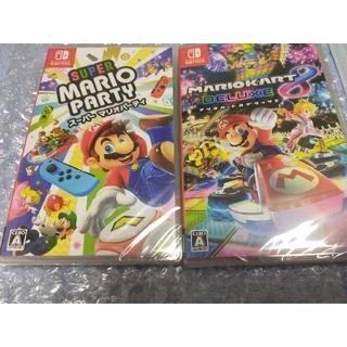 Nintendo Switch - マリオカート8 デラックス スーパーマリオパーティ Switch ソフト