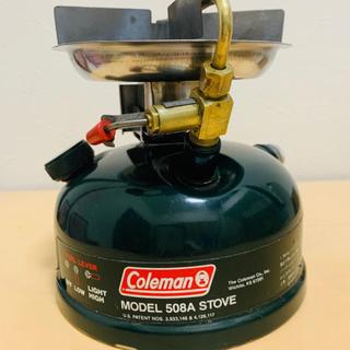 コールマン(Coleman)のコールマン Coleman 508A STOVE シングル ガソリン バーナー(ストーブ/コンロ)