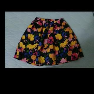 ロペピクニック(Rope' Picnic)のROPE'PICNICロペピクニック花柄スカート(ミニスカート)