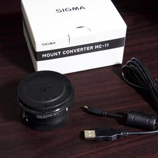 シグマ(SIGMA)のシグマMOUNT CONVERTER MC-11 CANON EF-E ソニー用(その他)