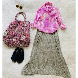 アーバンリサーチ(URBAN RESEARCH)のアーバンリサーチ♡リネン100%柔らかスカート美品(ロングスカート)