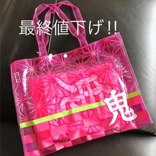 鬼滅の刃 ビーチトート(タオル付)ピンク