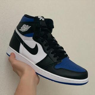 NIKE - 本日限定Nike airJordan 1 high royal toe 28cm