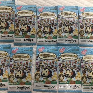 Nintendo Switch - 新品未開封 どうぶつの森 amiibo カード 第3弾 10パックセット