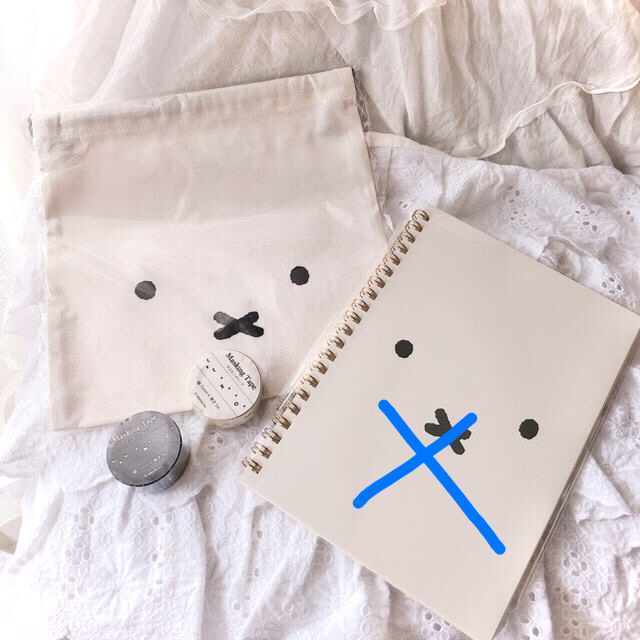 ラスト⭐️完売♥ミッフィー フェイスデザイン♥• × •♥ 6点セット! エンタメ/ホビーのおもちゃ/ぬいぐるみ(キャラクターグッズ)の商品写真