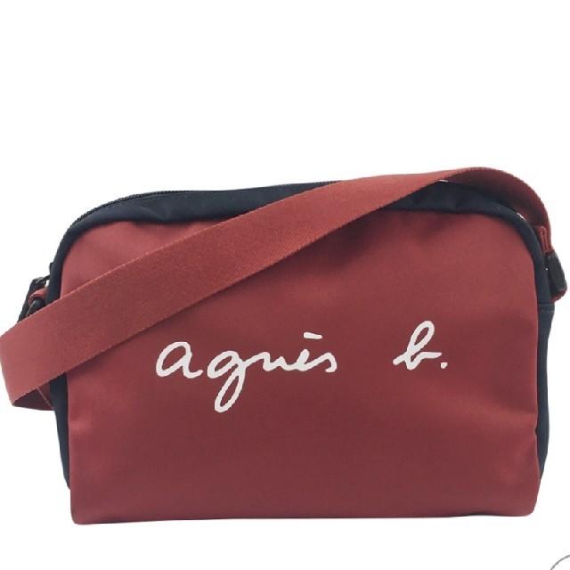 agnes b.(アニエスベー)のアニエスbショルダーバック【レッド】 レディースのバッグ(ショルダーバッグ)の商品写真