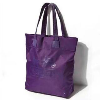 COACH - 【 新品未使用】 COACH コーチ ナイロン×レザートートバック紫