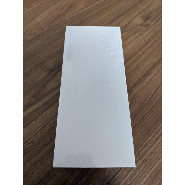 【新品未開封】OPPO Reno A 128GB ブラック スマホ/家電/カメラのスマートフォン/携帯電話(スマートフォン本体)の商品写真