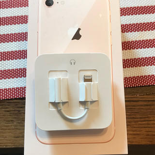Apple - アップル純正 変換アダプター  iPhone 8 付属品 動作確認済み