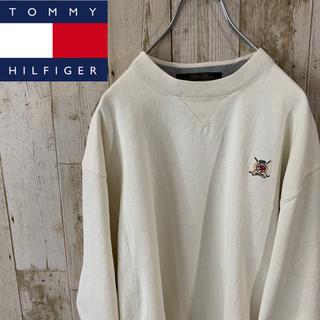 トミーヒルフィガー(TOMMY HILFIGER)の【激レア】トミーヒルフィガーゴルフ90s スエットトレーナー(スウェット)