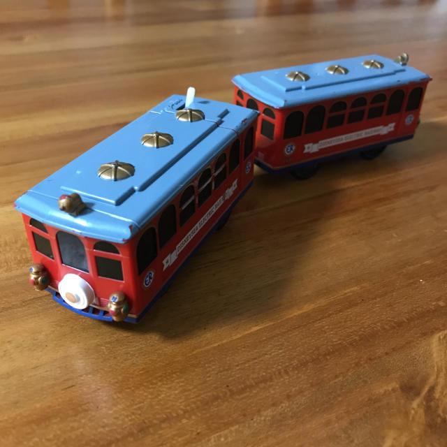 Disney(ディズニー)のプラレール ディズニーエレクトリック レールウェイ キッズ/ベビー/マタニティのおもちゃ(電車のおもちゃ/車)の商品写真