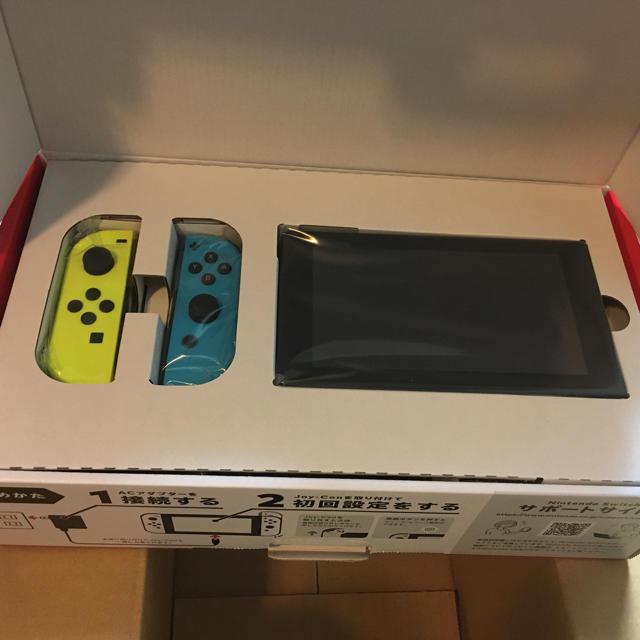 Nintendo Switch(ニンテンドースイッチ)のNintendo Switch 限定 新モデル  エンタメ/ホビーのゲームソフト/ゲーム機本体(家庭用ゲーム機本体)の商品写真