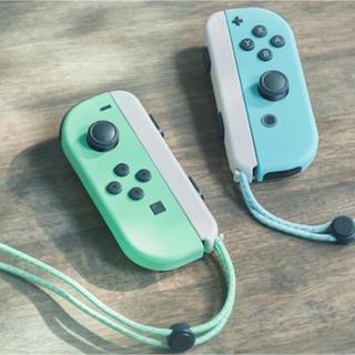 Nintendo Switch - 新品未使用 ニンテンドースイッチ あつまれどうぶつの森 ジョイコン のみ