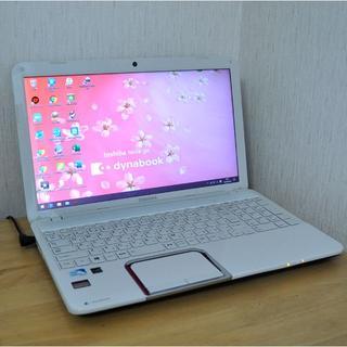 東芝 - S81/テレワークや授業にZOOM/HDD750GB/WEBカメラ/極上美品