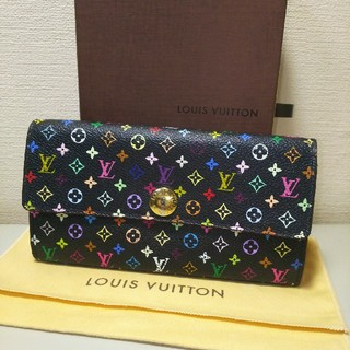 LOUIS VUITTON - 【正規品】LOUIS VUITTON マルチ ポルトフォイユサラ ノワール