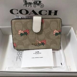 コーチ(COACH)のCOACH二つ折り財布で国内発送 F91836(折り財布)