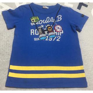 DOUBLE.B - ★ダブルB★半袖Tシャツ★120★ミキハウス★双眼鏡 だまし絵