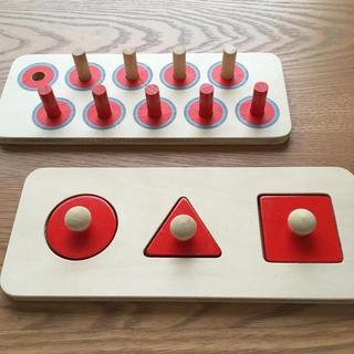 家庭保育園 ペグボード パズル