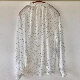 IENA SLOBE - 【IENA SLOBE】ドットシャツ