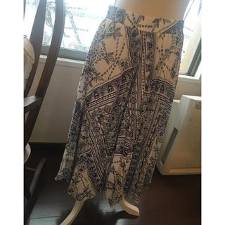 エイチアンドエム(H&M)の夏スカート美品 値下げ不可(ひざ丈スカート)