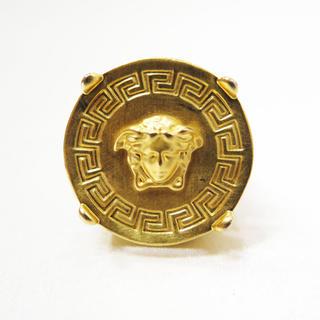 ヴェルサーチ(VERSACE)のVERSACE ヴェルサーチ メデューサ グレカ リング ゴールド 17号(リング(指輪))