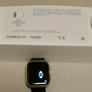 アップルウォッチ(Apple Watch)のアップルウオッチ apple watch4 44mm GPS(腕時計(デジタル))