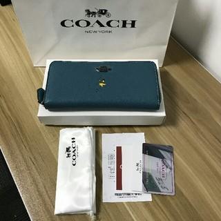 COACH - YKK製ファスナー COACH 長財布 アウトレット商品 16122