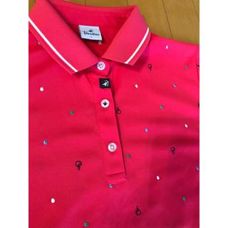 Paradiso - パラディーゾ レディース Lサイズ ゴルフポロシャツ 1度着ただけ