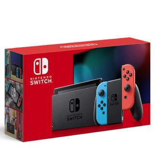 Nintendo Switch - ニンテンドースイッチ 新型 ネオンブルー/ネオンレッド
