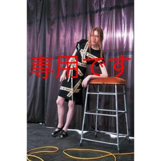 ヴィヴィアンウエストウッド(Vivienne Westwood)のVivienne Westwood アングロマニア ダクトテープ ワンピース(ひざ丈ワンピース)