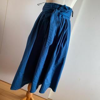 ナノユニバース(nano・universe)の綺麗色スカート(ロングスカート)