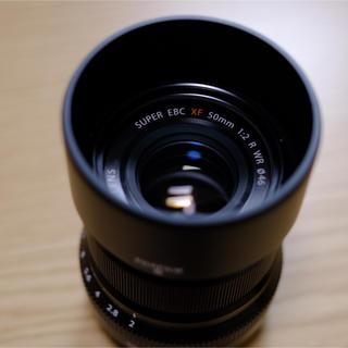 フジフイルム(富士フイルム)のFUJINON XF50mmF2 R WR 綺麗(レンズ(単焦点))