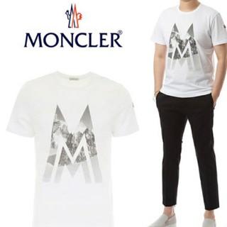 モンクレール(MONCLER)のMONCLER 半袖 マウンテン Tシャツ 美品 モンクレール(Tシャツ/カットソー(半袖/袖なし))