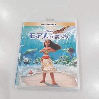 ディズニー(Disney)のモアナと伝説の海(純正ケース) ブルーレイのみ(アニメ)