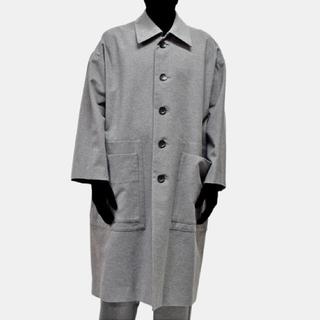 ドゥルカマラ(Dulcamara)のVOAAOV ヴォアーブ wool cotton pocket longcoat(ステンカラーコート)