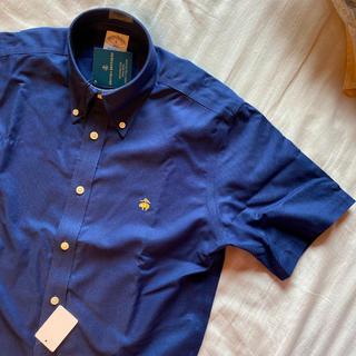 Brooks Brothers - ブルックスブラザーズ半袖シャツ 濃紺