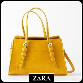 ZARA - ZARAアニマル柄ショルダーバッグハンドバッグ