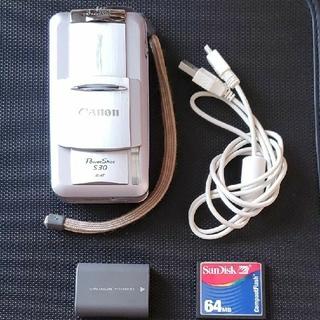 Canon - 値下げ!ジャンクCANON powershot S30&USBケーブル