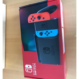 Nintendo Switch - 任天堂スイッチ 新型 Nintendo switch ネオンブルー ネオンレッド