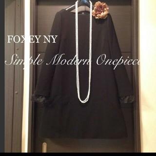 FOXEY - 2020年1月購入新作FOXEYNYお袖2wayほんのり素敵Aラインワンピース♡