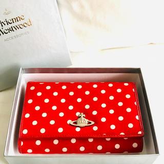 Vivienne Westwood - 初期 名作 Vivienne Westwood スポット柄二つ折り財布
