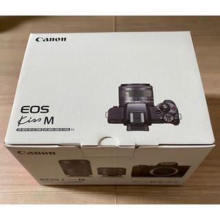 Canon - EOS Kiss M・ダブルズームキット・ブラック 新品未使用