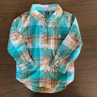 ベビーギャップ(babyGAP)のbaby gap チェックシャツ 100(その他)