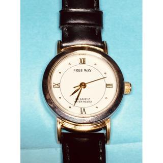 CITIZEN - T13)素敵な♡シチズン・フリーウェイ電池交換済み・レディース腕時計