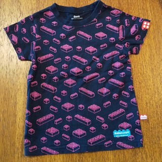 DiaBlock ブロック柄Tシャツ 110
