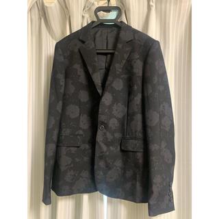 LAD MUSICIAN - 18aw 花柄 ジャケット サイズ42 黒色