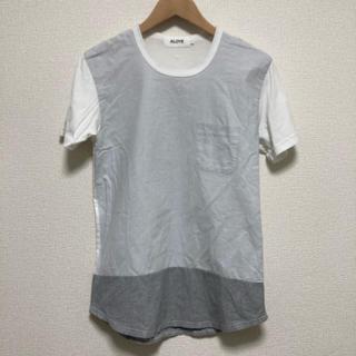 アロイ(ALOYE)のBEAMS ALOYE シャツ地切り替えTシャツ(Tシャツ/カットソー(半袖/袖なし))