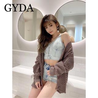 GYDA - GYDA フロントボタンデニムビスチェ